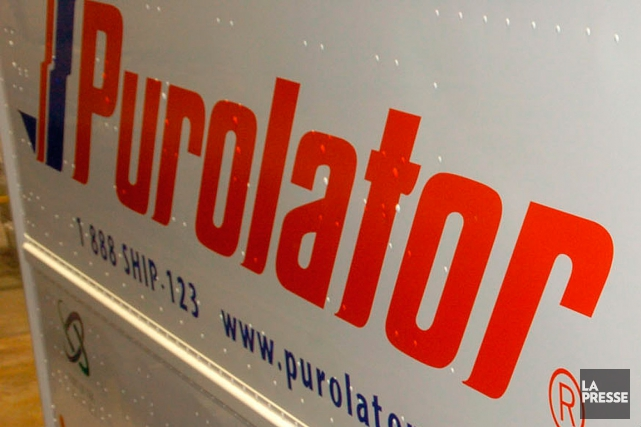 Purolator est une filiale à 91 % de la... (Photo Archives, La Presse)