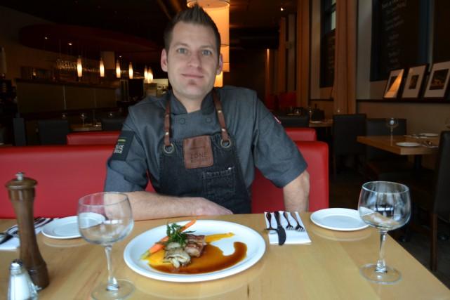 David Janelle, chef au restaurant La Cuisine et participant à l'émission Le... (Claudie Laroche)