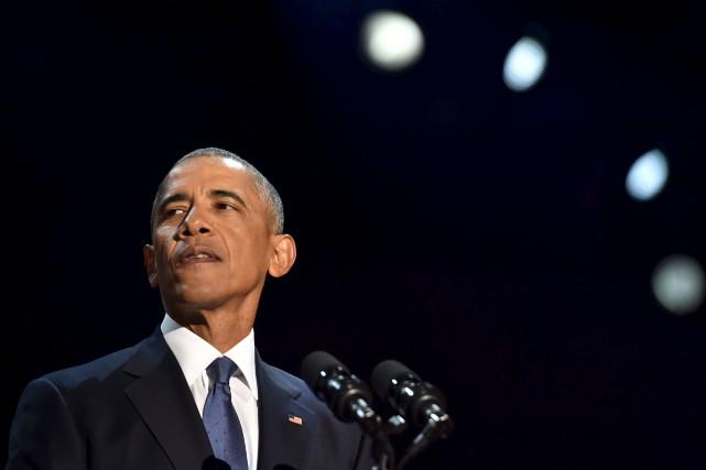 Barack Obama... (Photo Nicholas Kamm, archives Agence France-Presse)