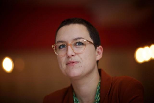 Noémi Schaub et 17 autres écrivains ont formél'Association... (PhotoANDRÉ PICHETTE,La Presse)