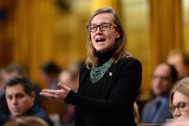 La nouvelle ministre fédérale des Institutions démocratiques,Karina Gould.... (Archives La Presse Canadienne)