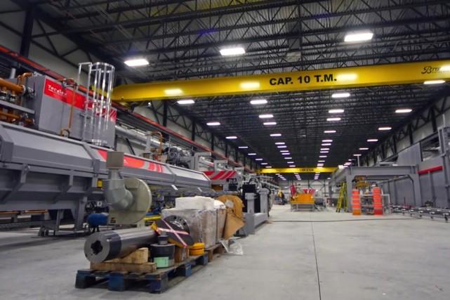 Les créanciers de l'usine d'extrusion d'aluminium Pexal-Tecalum Canada... (Archives)