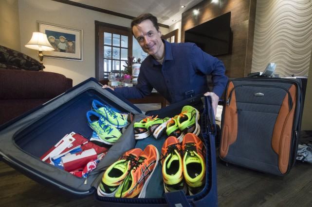 Patrick Charlebois a fait ses valises vendredi en... (Stéphane Lessard)
