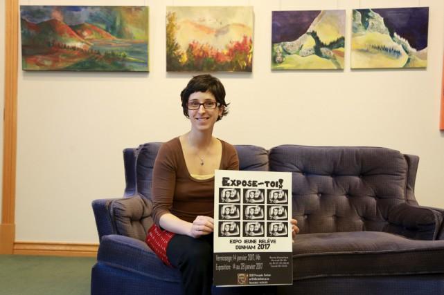 La coordonnatrice du Centre d'art de la bibliothèque... (Catherine Trudeau)