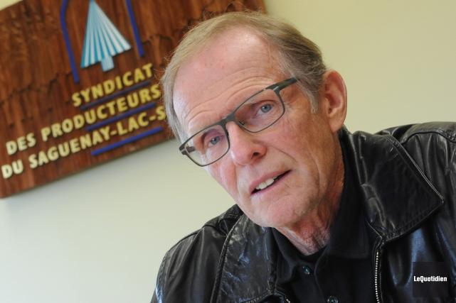 Le président du Syndicat des producteurs de bois... (Archives Le Quotidien, Michel Tremblay)