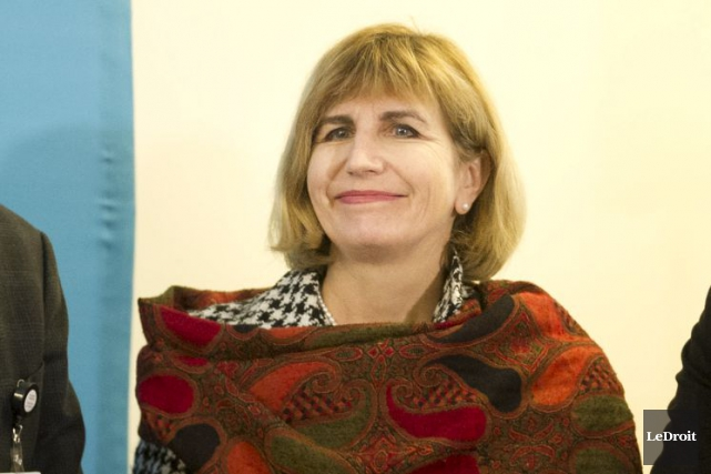 La députée provinciale d'Ottawa-Vanier, Nathalie Des Rosiers, était... (Martin Roy, Archives Le Droit)