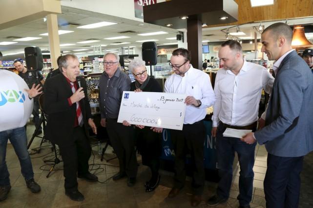 Marc Lessard, entrepreneur en commercialisation pour Loto-Québec dans... (Janick Marois)