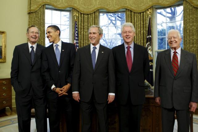 Une rencontre très spéciale à la Maison-Blanche en... (AP, J. Scott Applewhite)