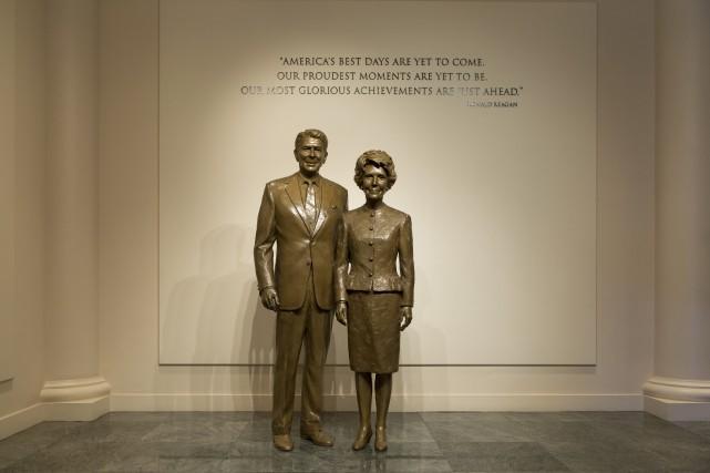 La bibliothèque présidentielle de Ronald Reagan, qui a... (123rf)