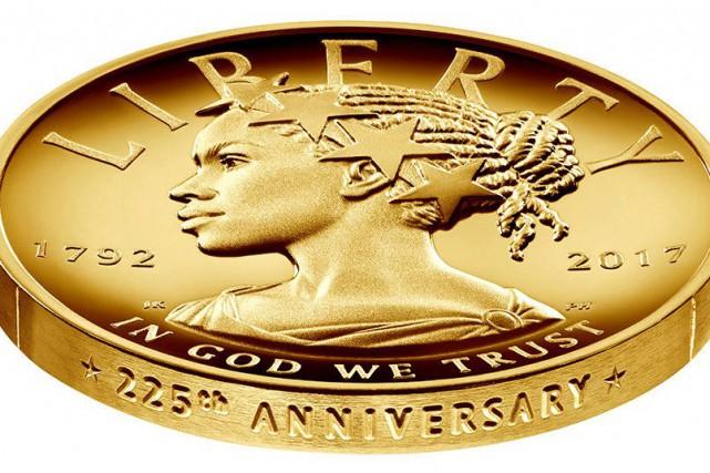 La pièce en or 24carats sera commercialisée à... (Photo United States Mint/ REUTERS)