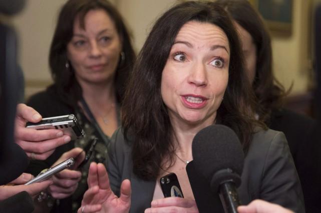 Martine Ouellet incarne un changement de cadre stratégique,... (Archives La Presse canadienne)