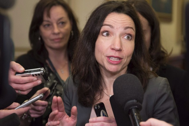 Martine Ouelletpoursuit sa réflexion quant à l'éventualité de... (Archives La Presse canadienne)