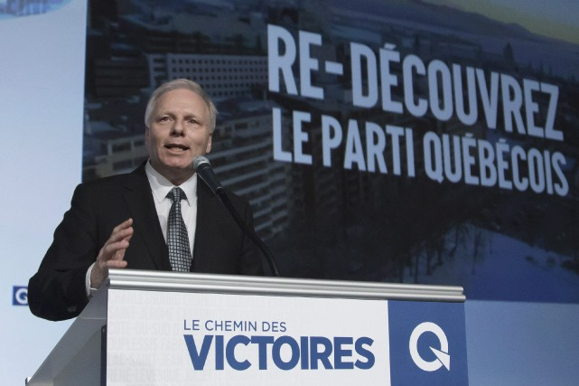 Jean-François Lisée à l'ouverture de son premier Conseil... (Photo Clément Allard, La Presse Canadienne)