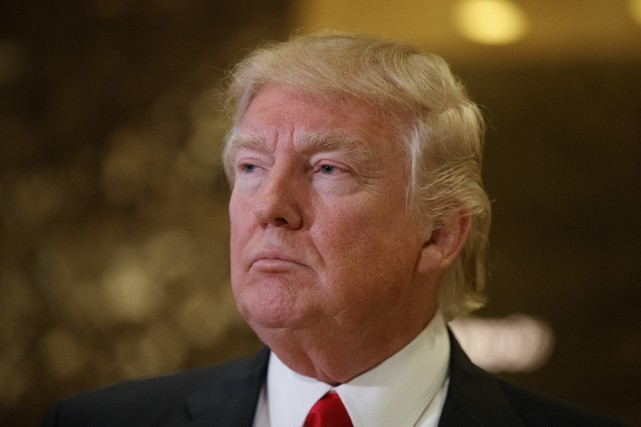 Donald Trump a soutenu par le biais de... (Photo Evan Vucci, Associated Press)