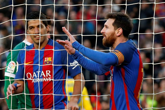 Lionel Messi a rejoint le Barça à l'adolescence et... (Photo Albert Gea, REUTERS)