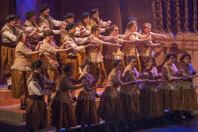 En plus de chanter à l'opéra, comme l'illustre... (Archives Le Progrès-Dimanche, Michel Tremblay)