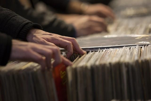 En 1981, 1 milliard d'albums étaient vendus alors... (123rf)