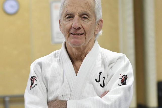 Le directeur technique du club Judokas Jonquière, Roger... (Le Progrès-Dimanche, Rocket Lavoie)