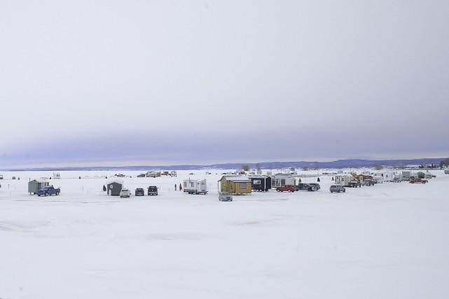 Le village sur glace de Roberval a commencé... (Le Progrès-Dimanche, Gimmy Desbiens)