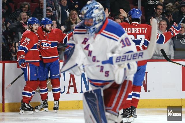 Le Canadien avait subi une dégelée de 7-1... (La Presse, Robert Skinner)