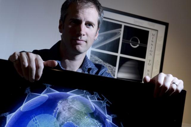 Diplômé de l'Université Laval, l'ingénieur Frédéric Pelletier a... (Le Soleil, Yan Doublet)