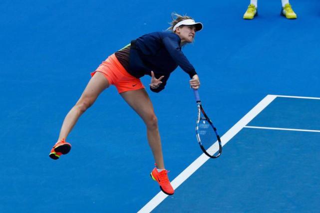 Eugenie Bouchard est très populaire en Australie et... (PhotoEdgar Su, Reuters)