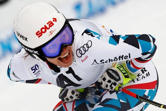 Grâce à sa victoire, Christine Scheyer a accédé... (Photo Leonhard Foeger, REUTERS)