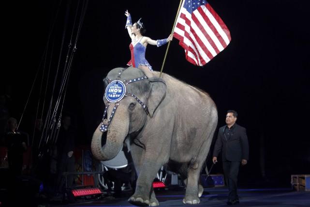 Le cirque a vu le jour au Wisconsin,... (Archives AP, Bill Sikes)