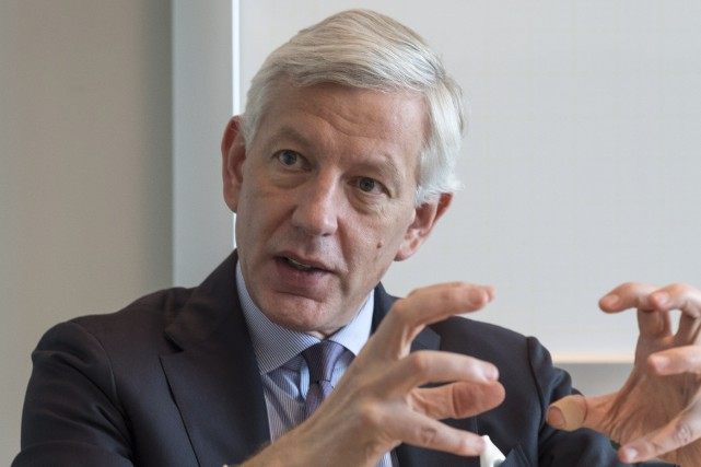 Dominic Barton, directeur général de la firme de... (Photo archives La Presse Canadienne)