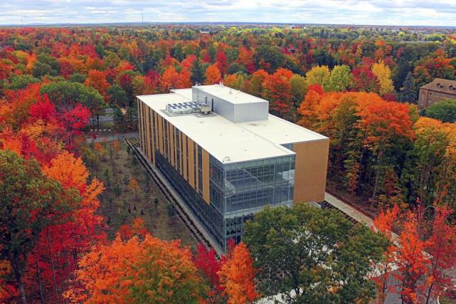 Le campus de l'UQTR à Drummondville sera ouvert... (Collaboration spéciale, Éric Beaupré)