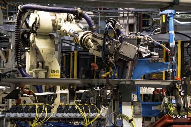 L'utilisation des robots industriels à travers le monde... (Photothèque Le Soleil)