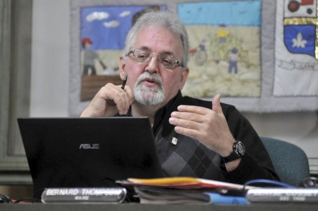Le maire d'Hérouxville, Bernard Thompson.... (Stéphane Lessard)