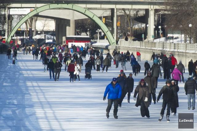 La 47e saison de patinage sur le canal... (Martin Roy, Archives Le Droit)