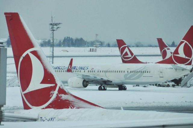 Selon les agences de presse russes, l'avion-cargo était... (Photothèque Le Soleil)