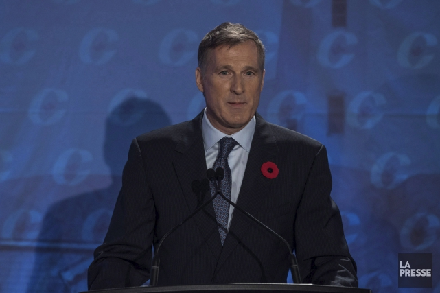Maxime Bernier... (Photo Liam Richards, archives La Presse Canadienne)