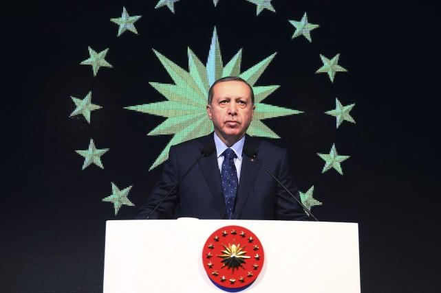 Recep Tayyip Erdogan... (Photo Kayhan Ozer, archives via AP)