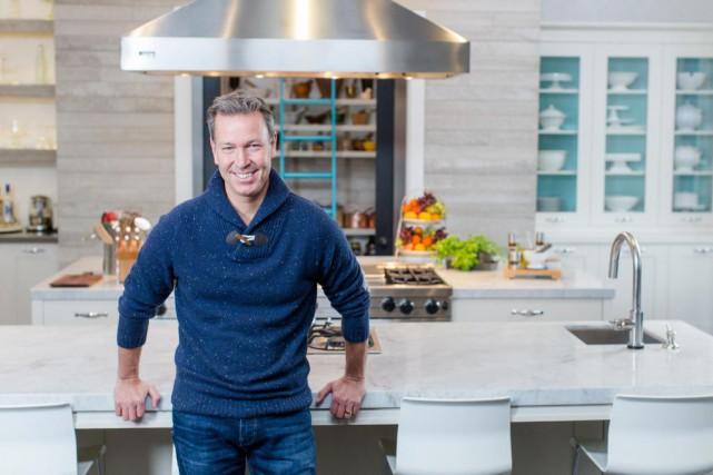 Le cuisinier chouchou des Québécois, Ricardo Larrivée, a... (Photo Olivier Pontbriand, La Presse)