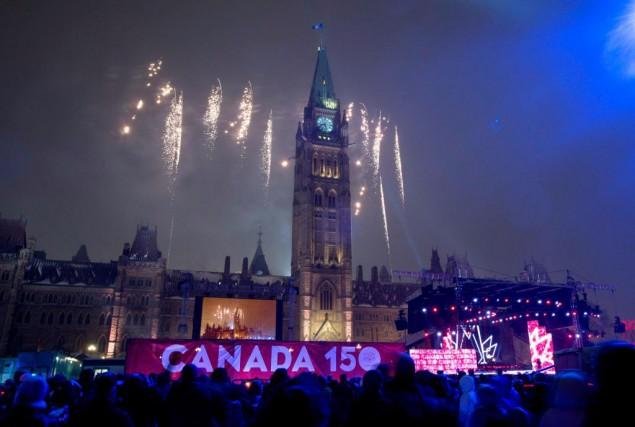 Les festivités entourant le 150e anniversaire de la... (Archives, La Presse canadienne)