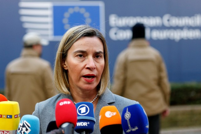 Federica Mogherini... (PHOTO REUTERS)