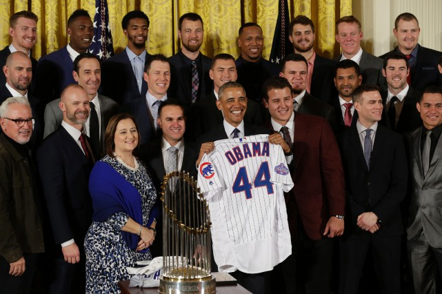Le président américain Barack Obama a reçu un... (Photo Yuri Gripas, AFP)