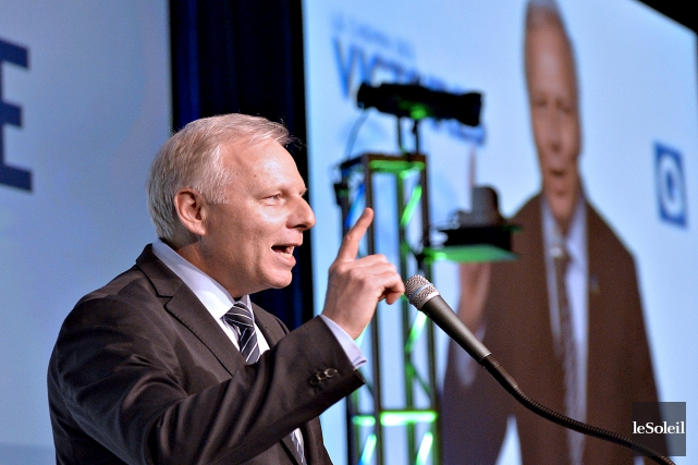 Le chef du Parti québécois, Jean-François Lisée... (Photothèque Le Soleil, Pascal Ratthé)