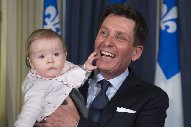 Le nouveau président du Conseil du trésor, Pierre... (La Presse canadienne, Jacques Boissinot)