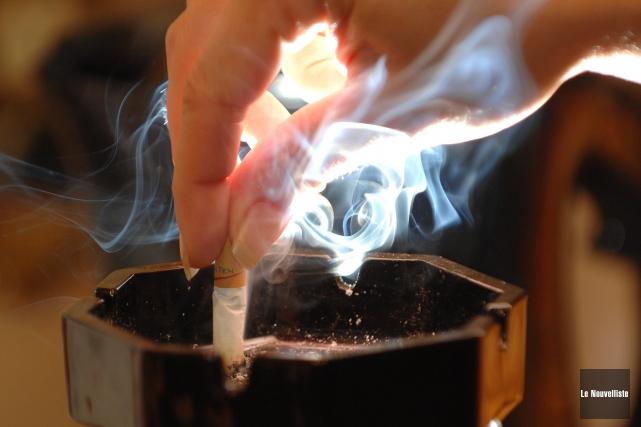 Le tabagisme et certaines maladies liées à notre... (Sylvain Mayer, Le Nouvelliste)