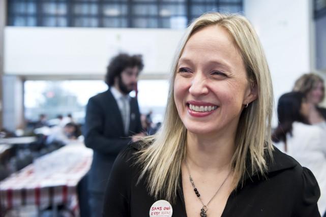 La professeure Geneviève Paquette de l'UdeS est l'une... (Spectre Média, Jessica Garneau)