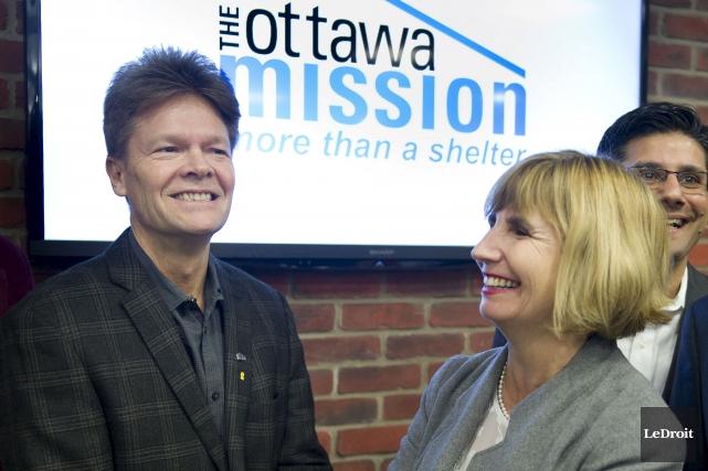 Peter Tilley, directeur général de la Mission d'Ottawa,... (Martin Roy, Le Droit)