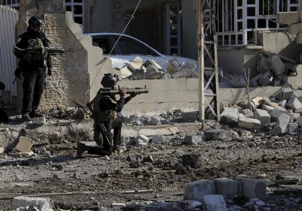 L'armée irakienne a gagné du terrain aux dépens... (AP, Khalid Mohammed)