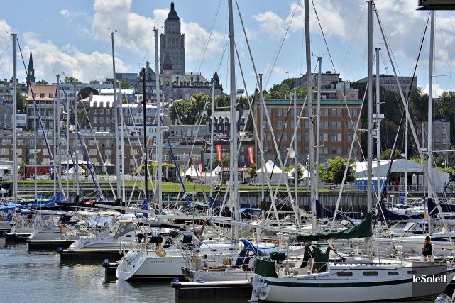 Dans son projet, le Port prévoit des condos,... (Photothèque Le Soleil, Patrice Laroche)
