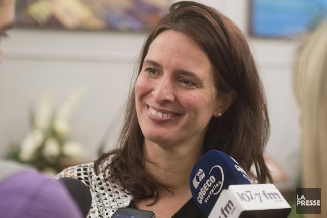 Annie Godbout ne se sent pas pressée d'annoncer... (Spectre Média, Julien Chamberland)