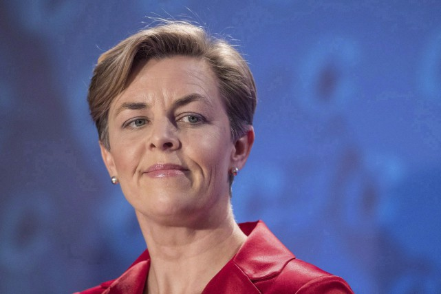 Kellie Leitch a l'intention d'aller de l'avant avec sa proposition... (La Presse canadienne, Liam Richards)