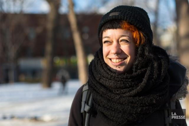 Émilie Roberge a fait le choix de travailler... (PHOTO OLIVIER JEAN, LA PRESSE)